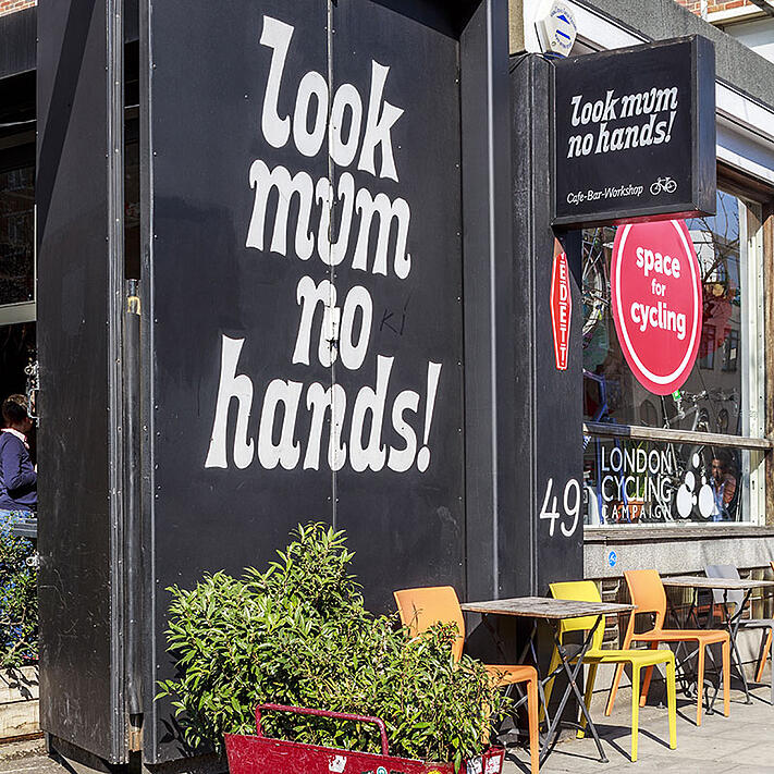 Image of shop called look mum no hands