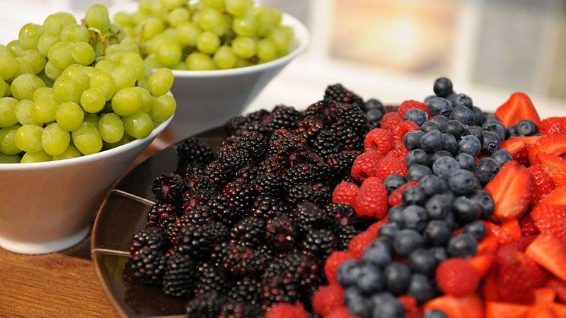 Fruit-platter-in-London-Showroom